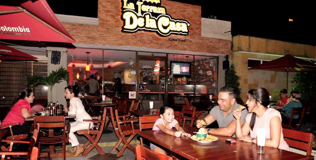 Una terraza de buena comida y servicio revistas for La terraza barranquilla