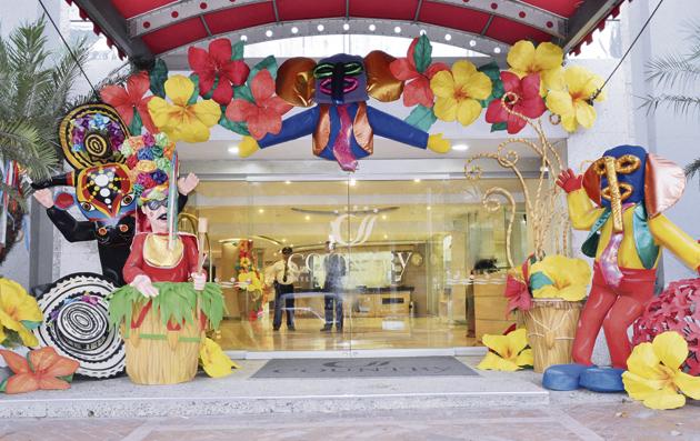 Decoraci n carnavalera imagui for Decoracion para carnaval
