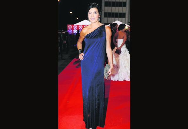 Fueron pocas las actrices y presentadoras que atinaron for Que significa alfombra