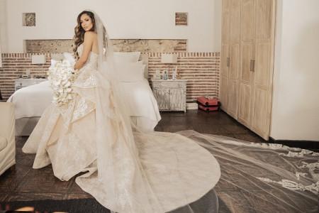 los vestidos de novia más recordados de este año en el caribe | revistas