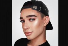 Un hombre es la imagen de marca de cosméticos