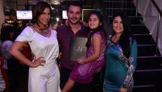 Laura Ojeda, Yadid Jalaff, Camila Jalaff y Francisca Vetancourt.