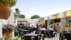 La zona de comidas de La Plaza está ubicada en la calle 80 N° 47-25, en Barranquilla.