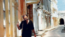 Las calles de Cartagena, el hábitat natural por muchos años de Gómez Jattin.