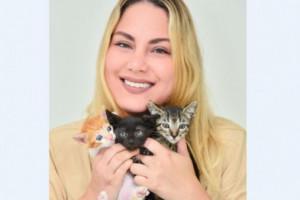 Melissa considera que los gatos tienes una energía especial, por eso siente una mayor empatía con esta especie.