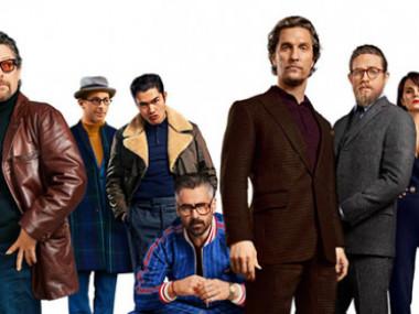 Poster del filme Los caballeros.